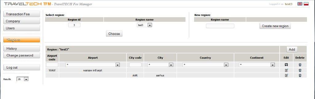 tfm Automatyczne wyliczanie Service Fee dla dowolnego PNR (informacja o opłacie w remarku PNR-a