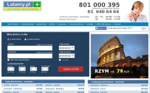 latamy.pl custom software development online airline tickets
