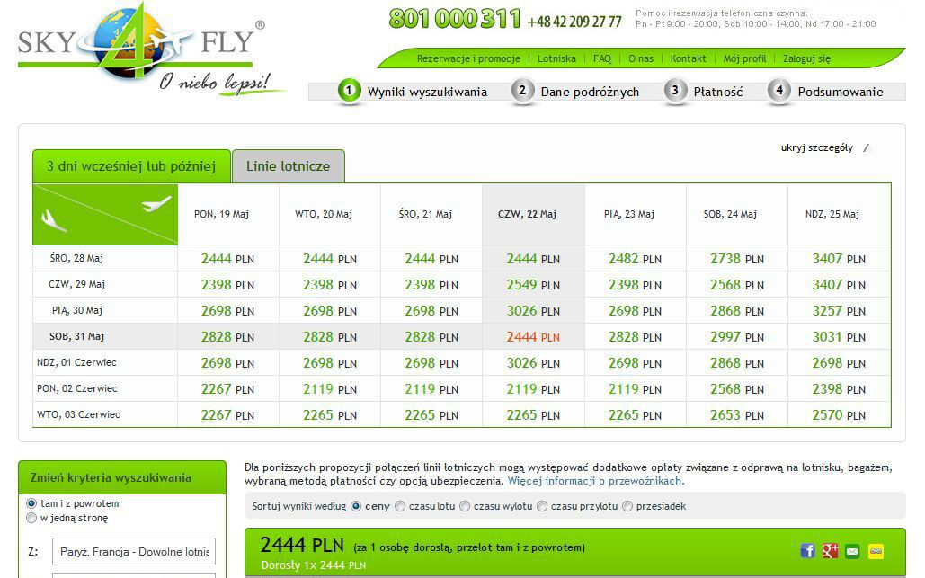 preview of sky4fly site reservations airport ecommerce integrations