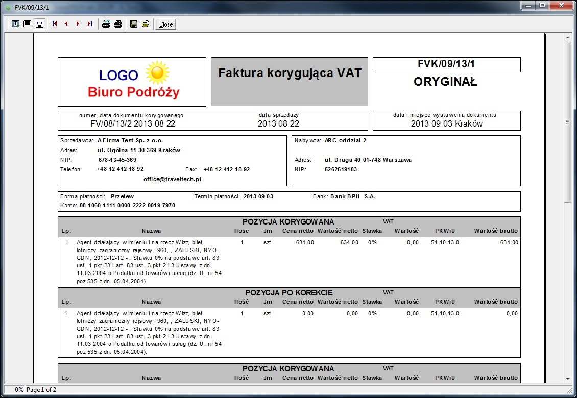 galscan faktura Zaawansowany eksport danych do systemów księgowych z dekretacją kont