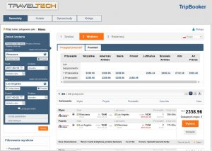 Tripbooker reservation platform corporate travel management preview planes online payment
