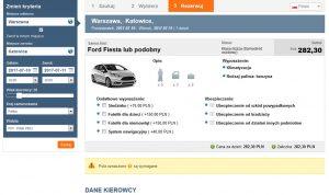 tripbooker reservation platform preview of car rental online booking tool