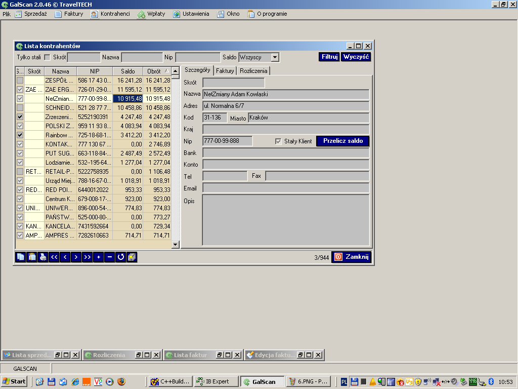 Mid-office software designed to automate the invoicing process