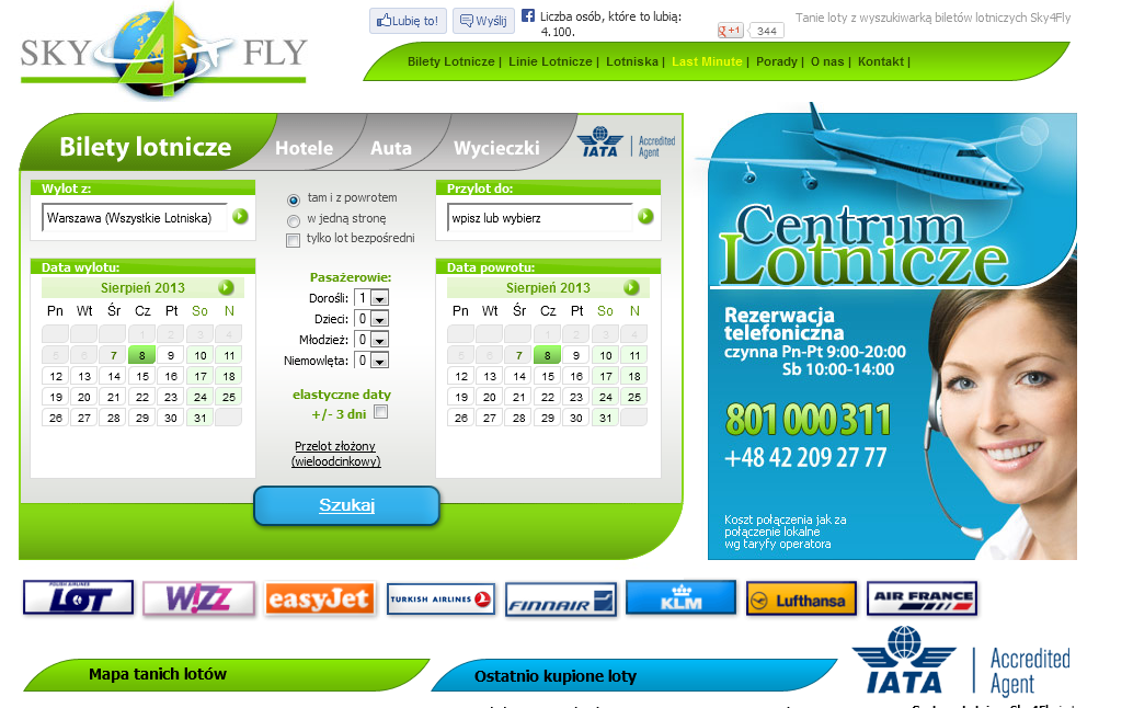 website sky4fly airline tickets low cost airport airlines last minute