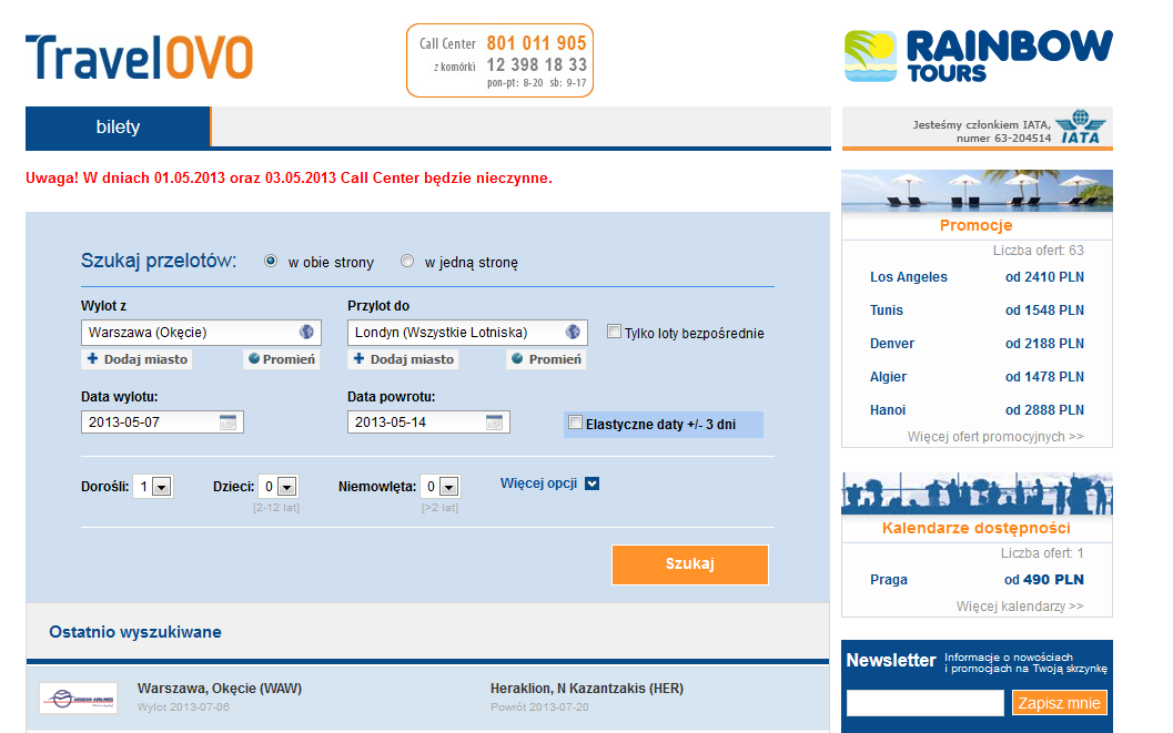 travelovo site preview - airline tickets travel tourism low cost airlines