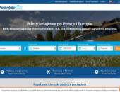 strona europodroze.pl podgląd bilety kolejowe po Polsce i Europie