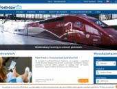 strona europodróże wyszukaj połączenie pociągi panoramiczne podróże