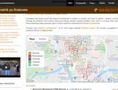 mapa ciekawych miejsc w Krakowie